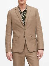Banana Republic Men's Slim Italian Cotton-Linen Suit Jacket Size 40 R #550205