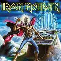 IRON MAIDEN - RUN TO THE HILLS (LIVE)  VINYL SINGLE NEW+