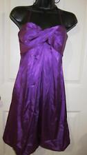 Morgan & Co.Women Halter Party Purple Dress Sz S  - Pre-owned Used One Time Only