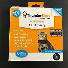 ThunderShirt for Large (Over 13 Pounds) Cats (Solid Gray) #1585