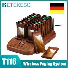 T116 Restaurant Pager System 20*Call Pager Krankenhaus Food Court Tierklinik DE