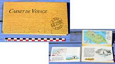 Carnet de voyage de l'Île d'Yeu à pied ou à vélo, 1993, aquarelles J.P. Arcile
