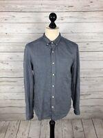 ALLSAINTS Shirt - Size Medium - Grey - Great Condition - Men's