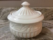 Grace's Teaware Canister, Coffee, Tea Or Sugar White. 5 Cup Size. Beautiful. New