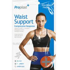 Waist Trimmer Belt Sweat Wrap Tummy Stomach Weight Loss Fat Burner Slimming Gym
