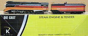 K-Line K3688-4449 SP Daylight GS-4 Steam Engine 3-Rail O-Gauge - DOES NOT RUN