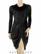 Tunique Robe COP COPINE T 38 / 40 M / L 2 3 Noir Portefeuille Tunic Tunika Dress