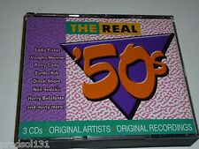 CD The REAL '50s [3CD set] (2002 BMG Special Products) Rock & Pop