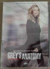 Greys Anatomy Season Sixteen DVD Series 16