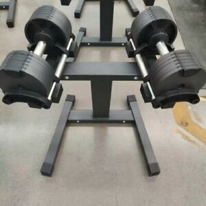 Pair Of Adjustable Dumbbell 2 x 32 kg PAIR ( 64 kg total ) WITH RACK STAND OFFER