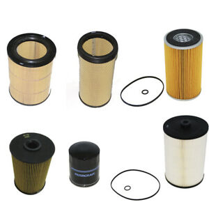 Engine Filter Kit For Hino 700 Series Truck (6 Piece Kit)