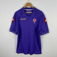 Lotto ACF Fiorentina Football Soccer Jersey Mens 2XL Purple Made In Italy 2011