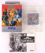 Crystal Warriors Sega Game Gear Complete Boxed Tested CIB