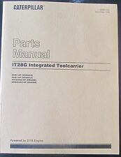 PARTS MANUAL FOR IT28G CATERPILLARIT28G INTEGRATED TOOLCARRIER