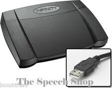 Infinity IN-USB-2 Digital Transcription Foot Pedal ***Ex Demo Unit***