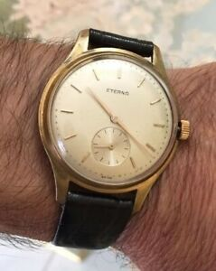 Watch vintage ETERNA  oversize 37mm orologio Meccanico .