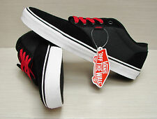 Vans Men's Atwood Textile Black Grey Red VN-0TUY8UU Size: 11.5