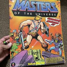 1983 Colorforms Master Of The Universe MOTU Deluxe Adventure Play Set He-Man