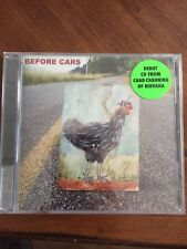 BEFORE CARS Walk Back DEBUT CD from Chad Channing of NIRVANA Seattle grunge rock