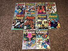 AVENGERS #211 - 220 (1981 MARVEL Lot of 10)