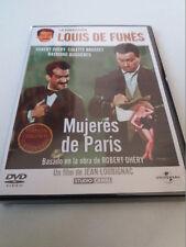 """DVD """"MUJERES DE PARIS"""" LOUIS DE FUNES JEAN LOUBIGNAC ROBERT DHERY"""