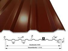 Trapezblech Dachbleche | 0,50 mm | RAL 8017 | T-18M/1070 | SONDERPOSTEN 2. Wahl