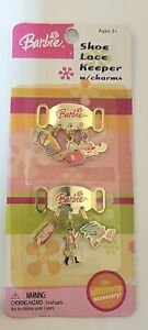Barbie Shoe Lace Keepers With Charms!