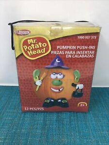 Mr Potato Head Pumpkin Push-ins Witch Halloween Outfit Playskool Full Set
