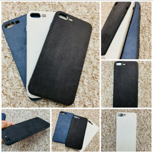 Luxury Velvet Slim Bumper Case Cover For iPhone 6 6S+ 7 8 7/8Plus X XS XR XS MAX
