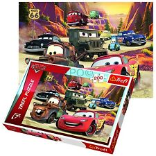Trefl 200 Piece Kids Disney Pixar Cars Mountain Drive Mack Jigsaw Puzzle New
