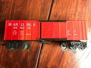 Marx Marlines Operating Boxcar #249319