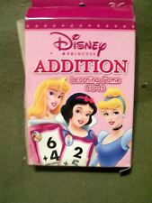 Disney Princess Addition Learning Game Cards (Flash Cards)