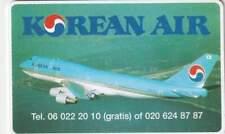 Telefoonkaart / Phonecard Nederland CRE248 ongebruikt - Korean Air