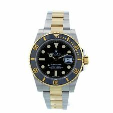 Rolex Submariner Date 116613LN 40mm Yellow Gold and Steel Box and Papers 2020