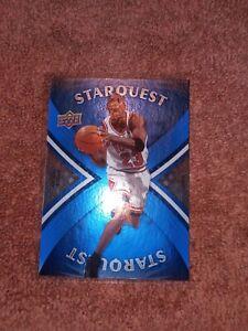 MICHAEL JORDAN 2008-09 Upper Deck Starquest Blue Super RARE #SQ20 -Chicago Bulls