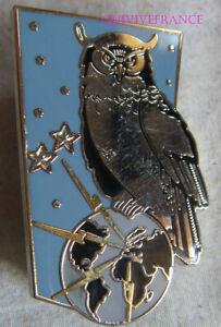 IN12759 - Insigne Brigade Renseignement Guerre Elec, E.M, hibou, attache PIN'S