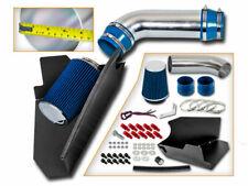 BCP BLUE 96-99 GMC C2500 K2500 Suburban 5.0/5.7 V8 Heat Shield Cold Air Intake