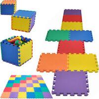 18 Pack Eva Foam Soft Play Mats Interlocking Kids Activity Set Floor 29cm Tiles