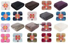 Heat Holders Snuggle Thermal Luxury Fleece Blanket Throw Wrap One Size 1.7 Tog