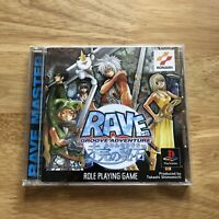Rave Groove Adventure - PS1 PlayStation 1 - Japan JPN - Konami RPG