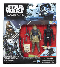 STAR WARS ROGUE ONE REBEL COMMANDO PAO VS. IMPERIAL DEATH TROOPER 2-PACK / 3,75""