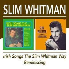 NEW Irish Songs The Slim Whitman Way/Reminiscing /  Slim Whitman (Audio CD)