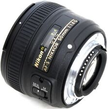 Nikon AF-S NIKKOR 50mm f/1.8G Kamera Objektiv ( Camera Lens ) F1.8 G - Neu OVP
