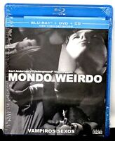 Mondo Weirdo/Vampiros Sexos Blu ray+DVD+CD  #292/2000 NEW SEALED