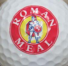(1) ROMAN MEAL OATMEAL CEREAL LOGO GOLF BALL