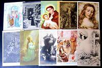 Religione - Lotto da 50 antiche cartoline - perfette