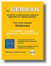Wörterbuch: Deutsch - Philippinisch - Tagalog