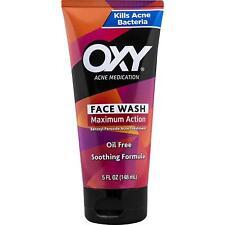OXY Acne Medication Face Wash MAXIMUM Action With MAXIMUM Strength 10 Benzol