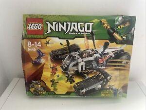 lego ninjago 9449 brand new unopened 2 in1 set box retired set