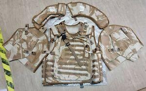 British Army DPM Desert Osprey Body Armour Cover Vest MK2/MKII 180/104